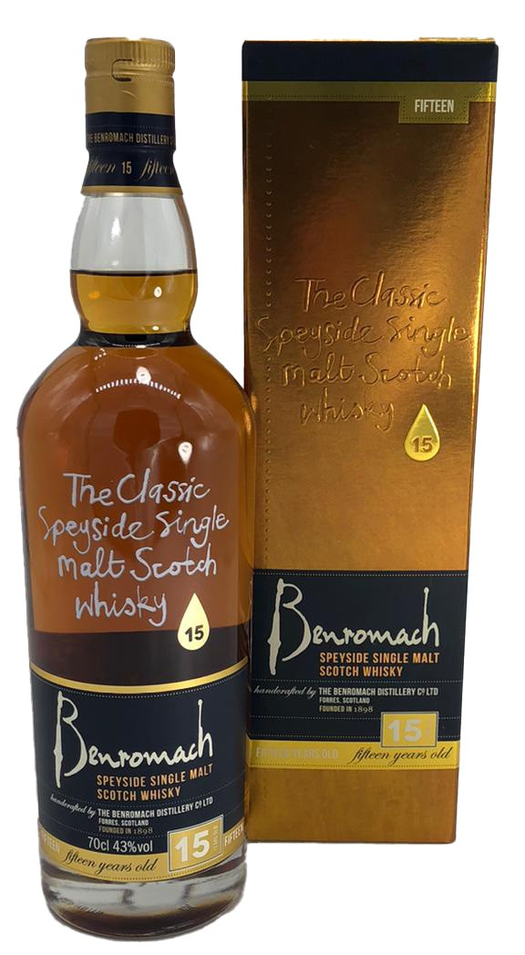 Benromach Speyside 15 Years Old