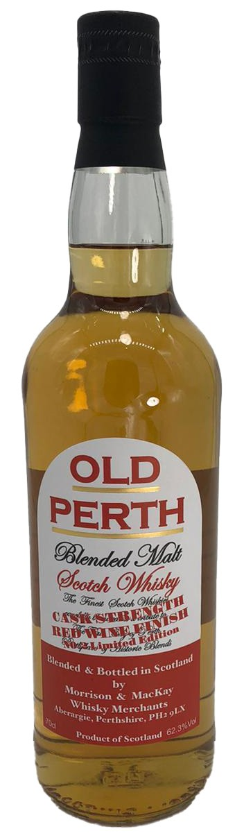 Old Perth Blended Malt Cask Strength Red Wine Finish