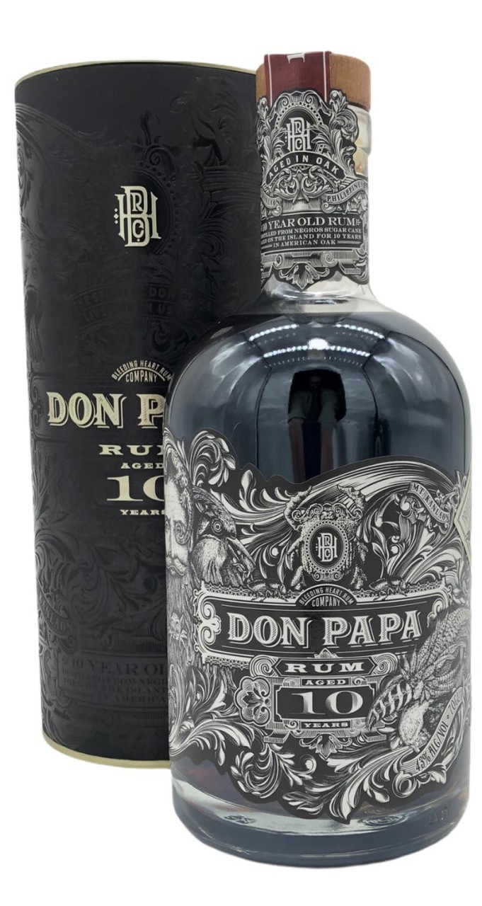 Don Papa aged 10 years Rum GB