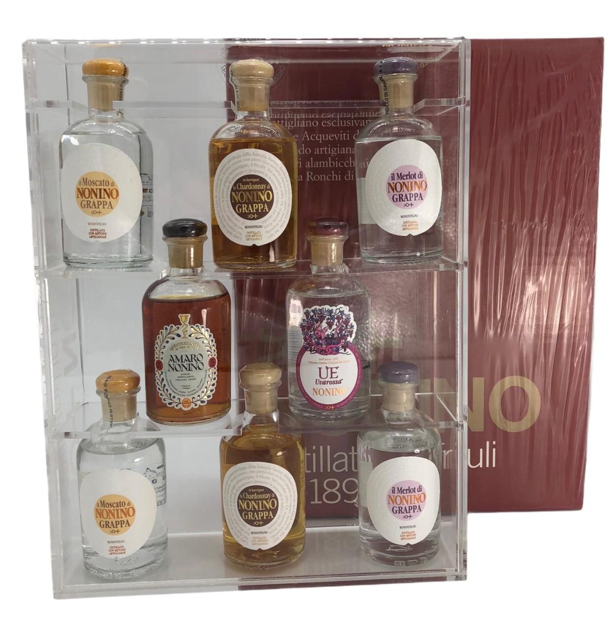 Nonino Distillatori in Friuli dal-1897 (Probierbox 8 x 100 ml)