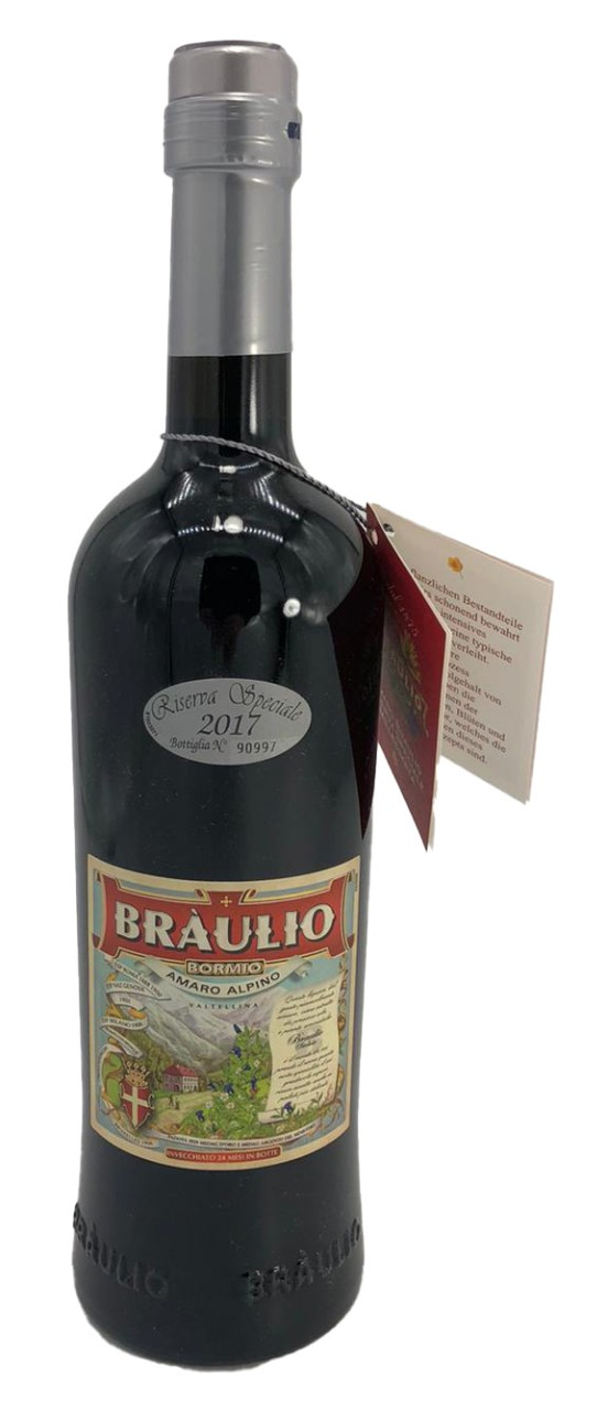 Braulio Riserva 2017 Amaro Kräuterlikör