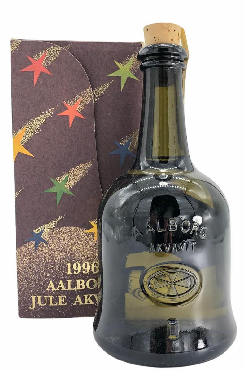 1996 Aalborg Jule Akvavit Sonderabfüllung inkl. Geschenkpackung