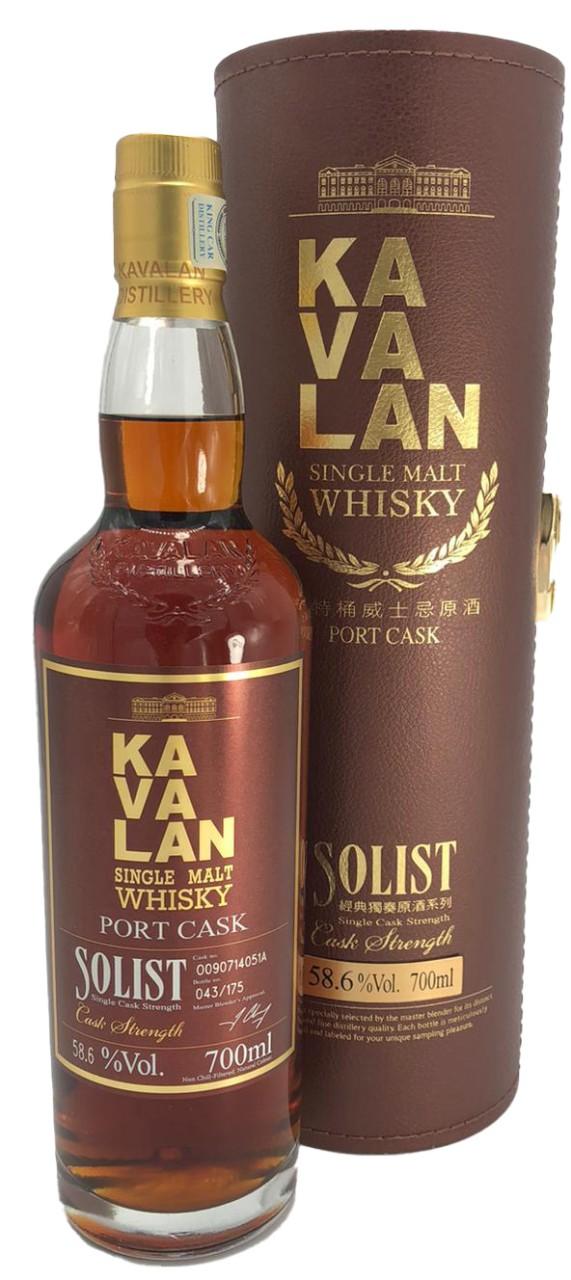 Kavalan Port Cask Solist Single Malt (0,7 L in brauner GK)