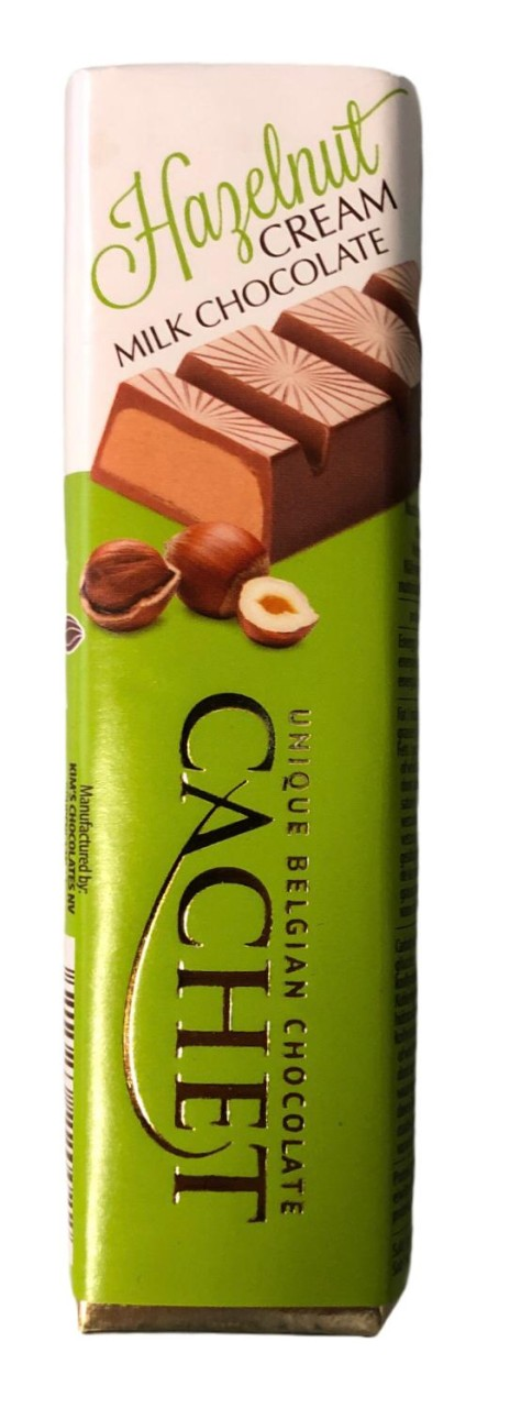 Cachet Hazelnut Cream Mild Chocolate 75g
