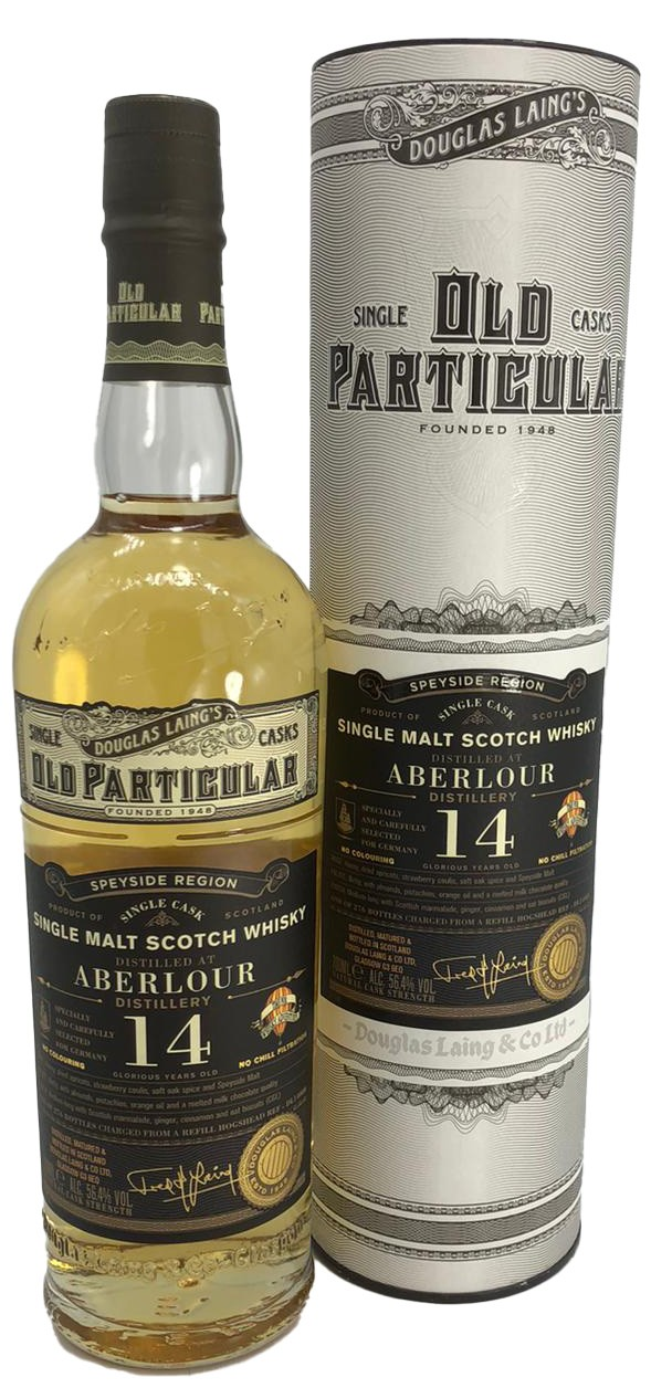 Old Particular Single Malt Aberlour 14 YO