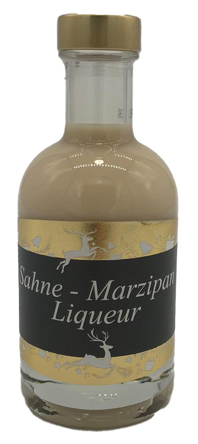 Sahne - Marzipan Liquer 0,2l