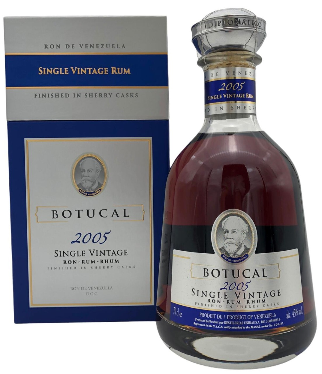 Botucal Rum Single Vintage 2005 43% - 700 ml