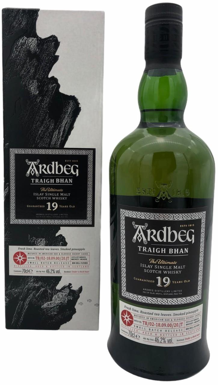 Ardbeg Traigh Bhan 19 Years Old 0,7l 46,2% vol.
