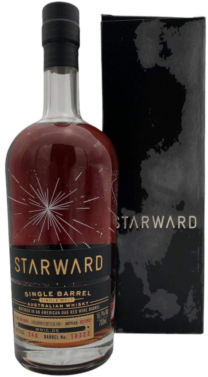 Starward Fortis Single Barrel Australian Whisky Matured in an American Oak red Wine Barrel 0,7l 55,7