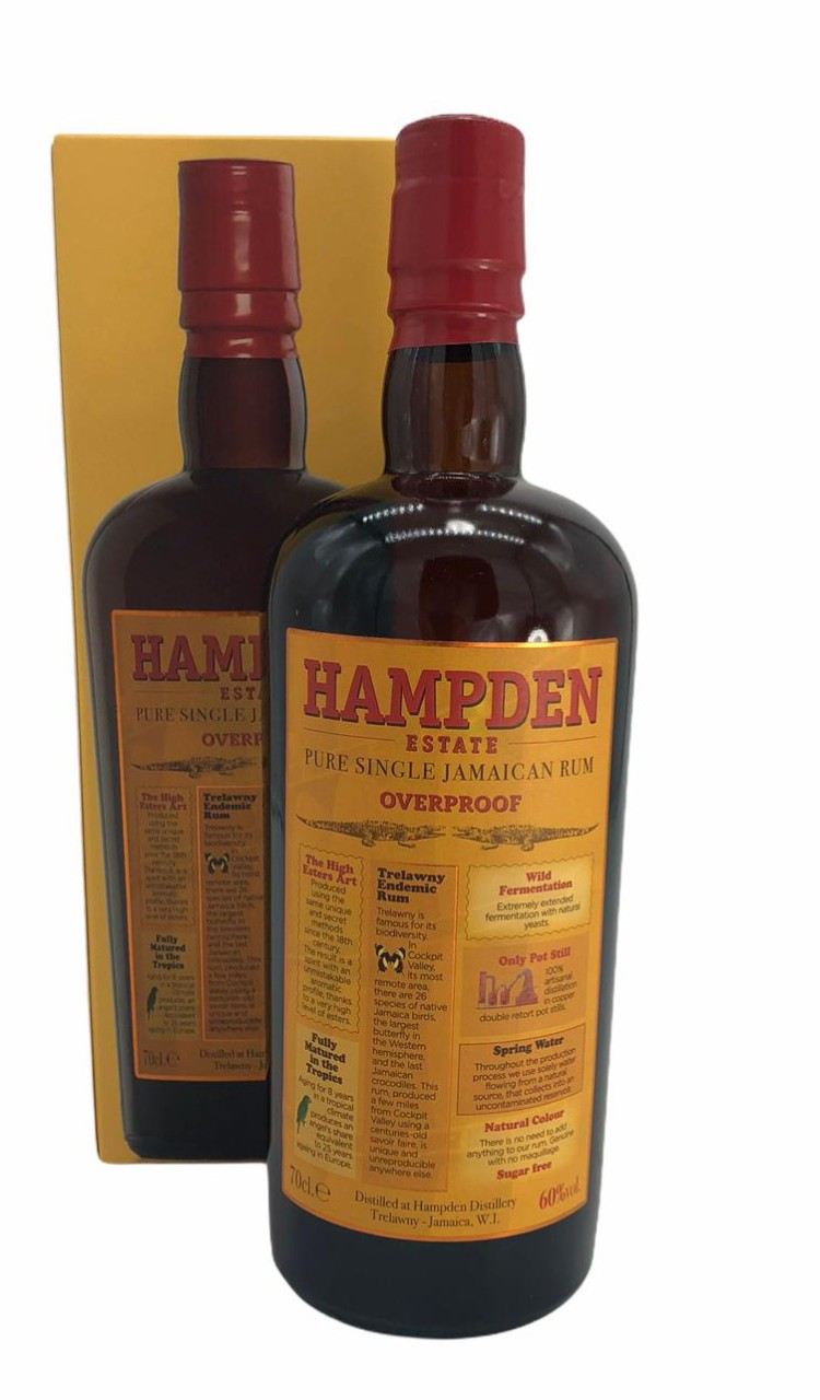 Hampden Pure Single Overproof Rum aus Jamaica
