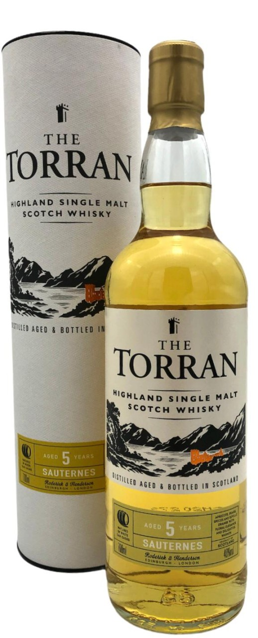 THE TORRAN Finished in Sauternes Cask 5 Years old 0,7l