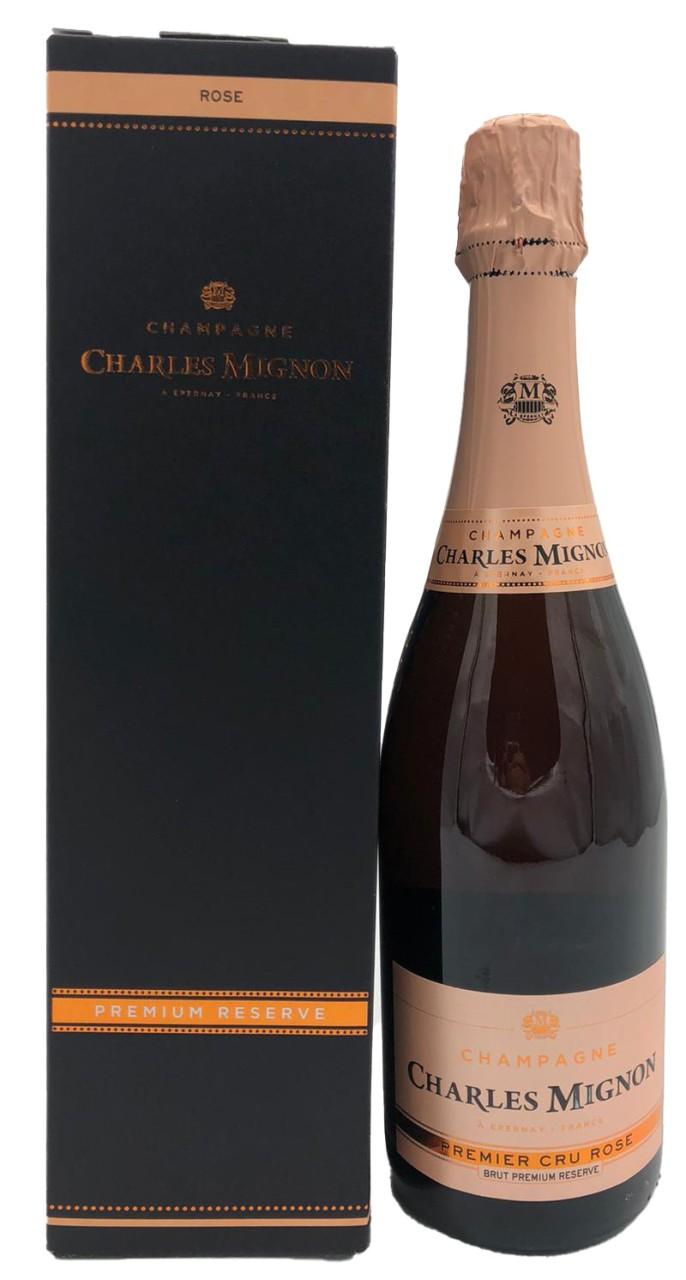 Charles Mignon Champagner Premium Reserve Rosé Premier Cru