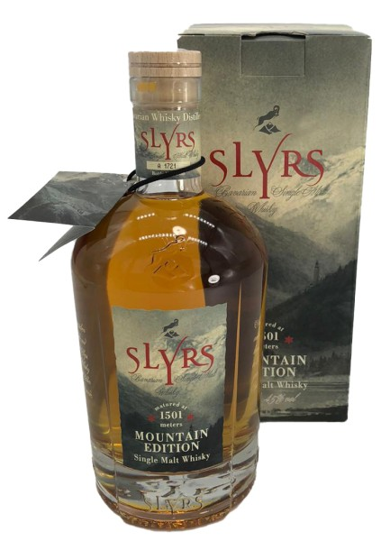 Slyrs Mountain Edition Single Malt Whisky 0,7l - LIMITIERTE AUFLAGE -