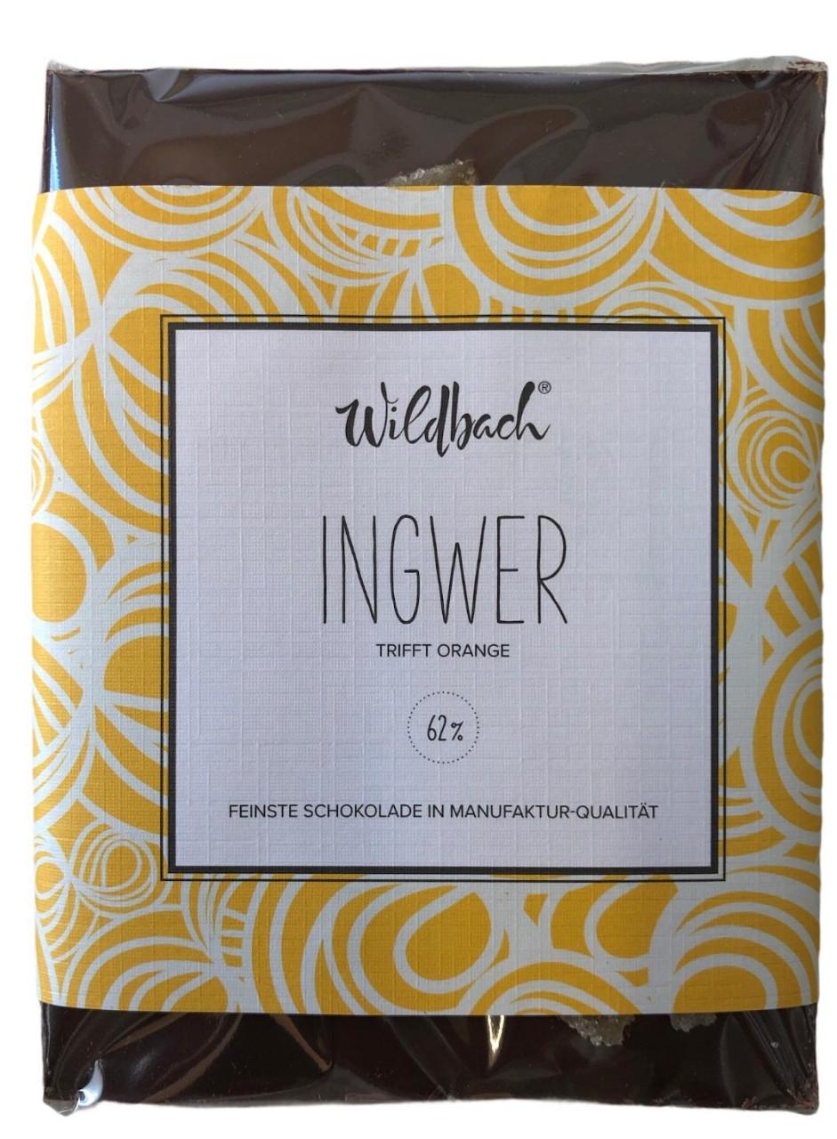 Wildbach Ingwer trifft Orange 62% 70g