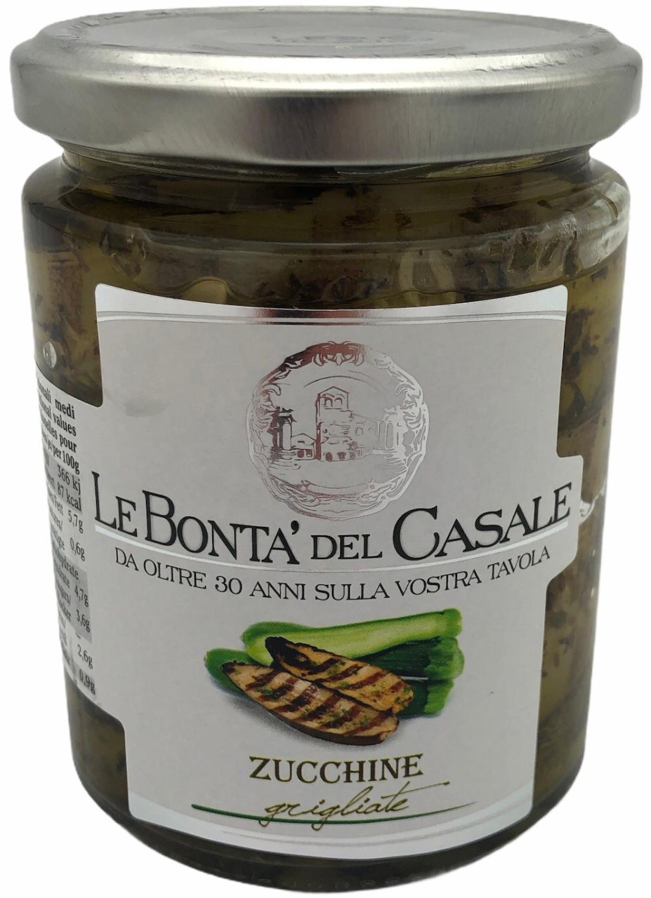 Le Bonta del Casale Zucchine 280g