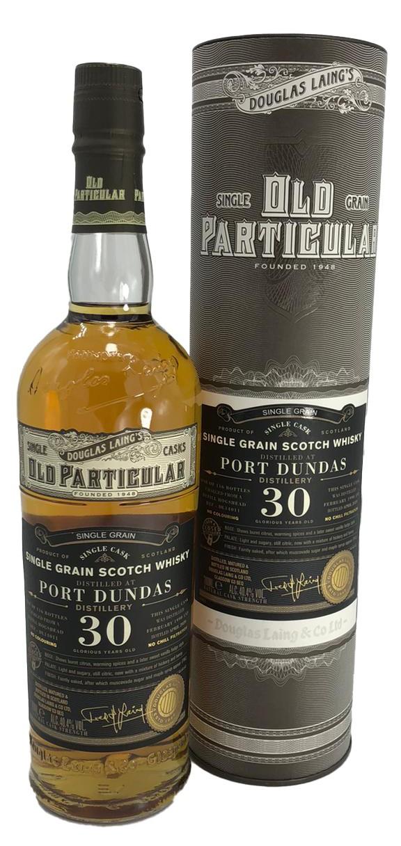 Old Particular Port Dundas 30 Jahre 1990/2020 Single Grain Douglas Laing´s 40,4% vol. 0,7l