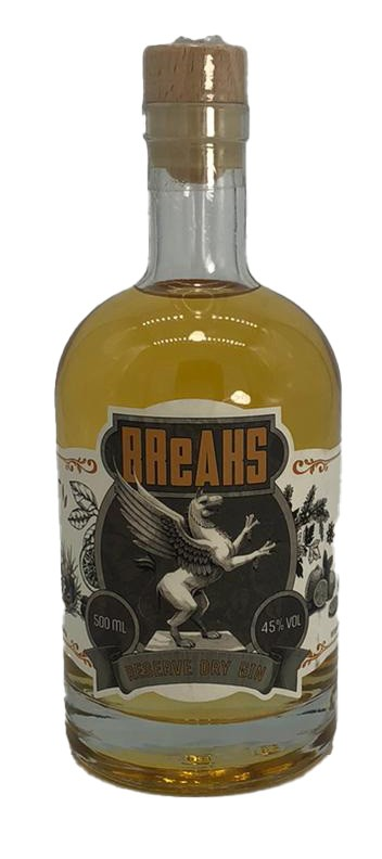 Breaks Reserve Dry Gin Limited Edition - NUR 150 Fl
