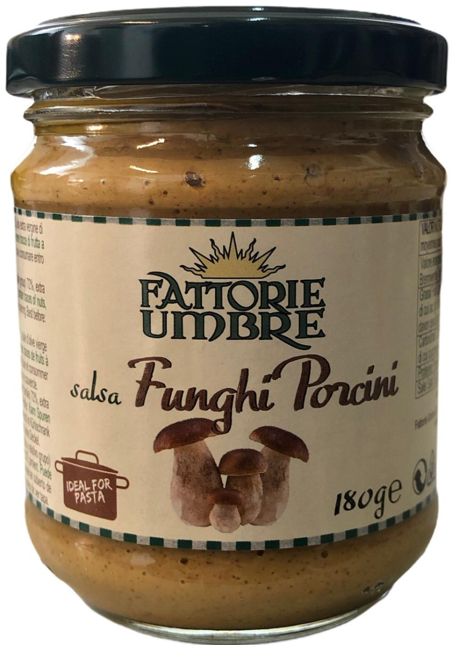 Fattorie Umbre salsa Funghi Porcini 180g