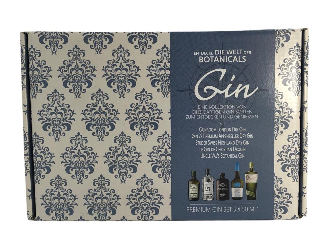 Gin Set-Entdecke die Welt in Geschenkpackung