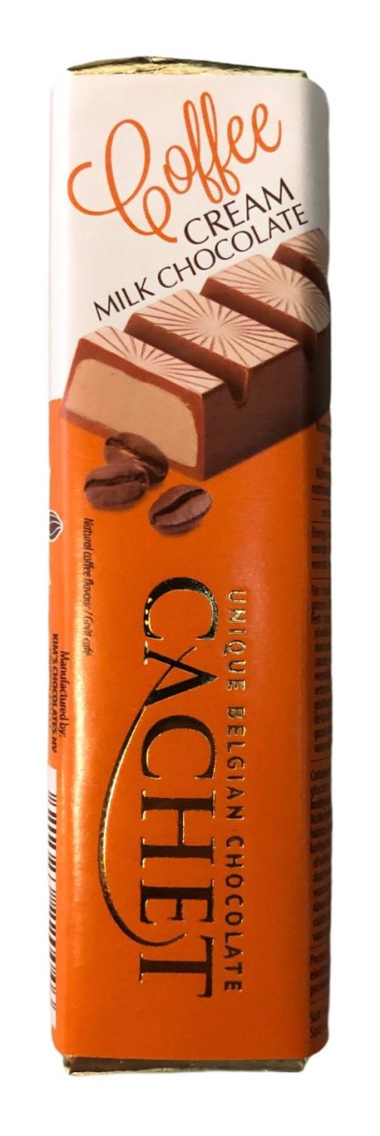 Cachet Coffee Cream Milk Chocolate 75g