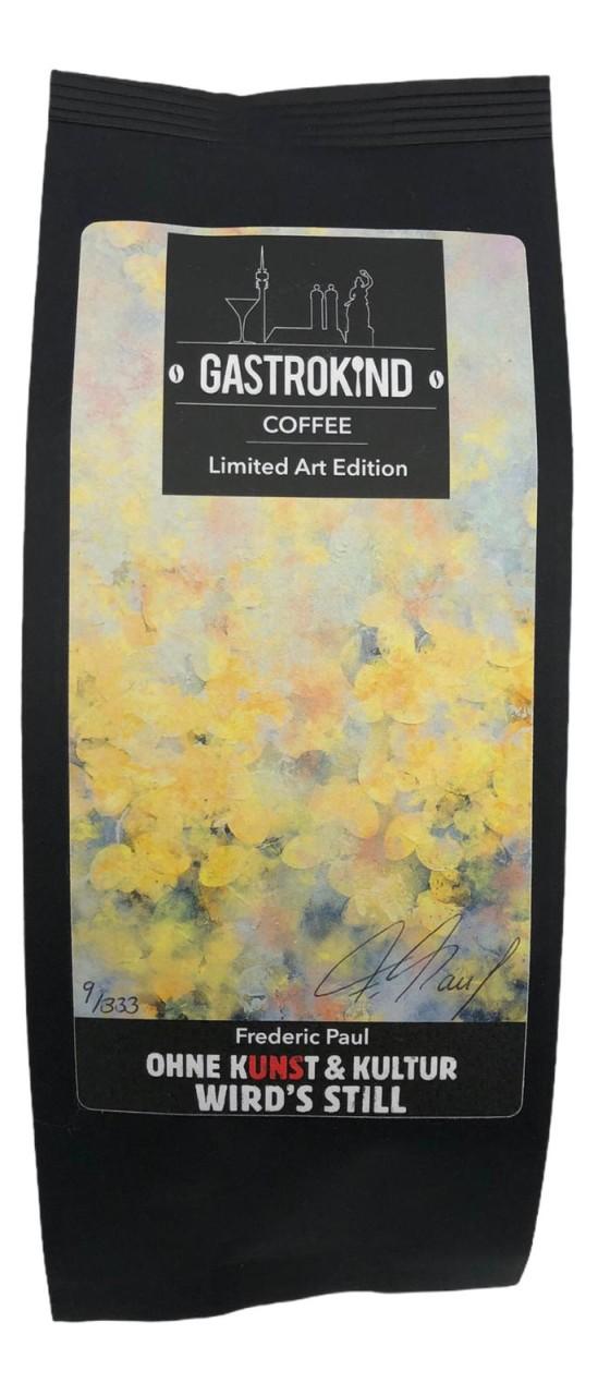Gastrokind Coffee Limited Art Edition OHNE KUNST & KULTUR WIRD`S STILL 250g ganze Bohne