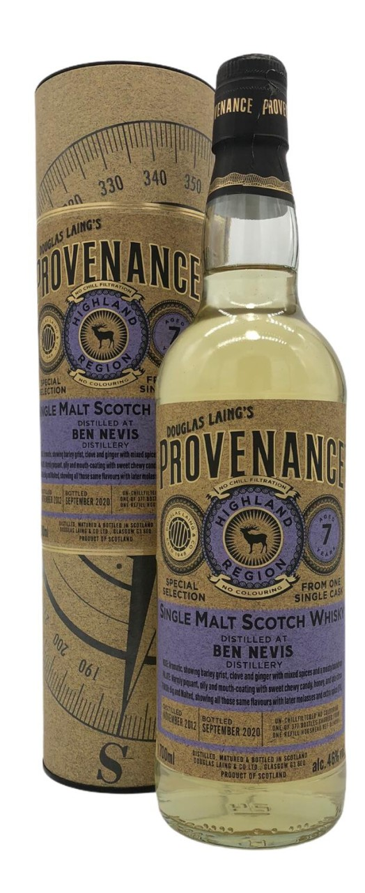 Provenance Ben Nevis 7 Years Old
