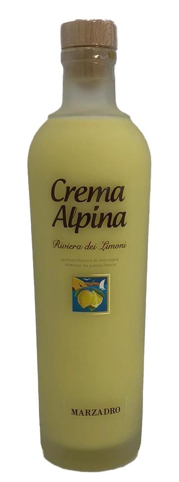 Marzadro Crema Alpina Limone
