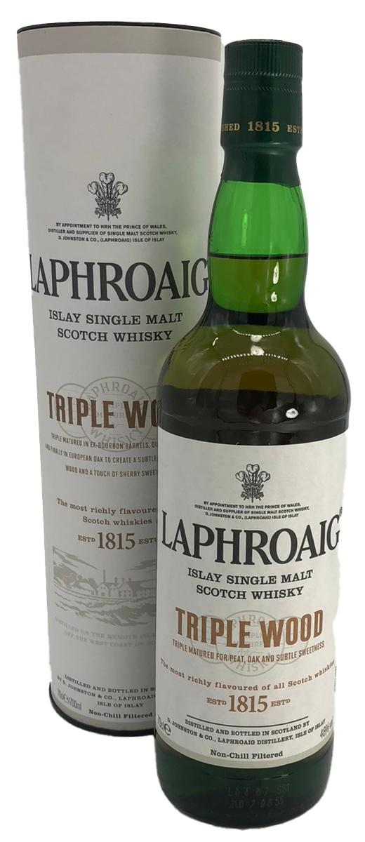 Laphroaig Tripple Wood Single Malt Whisky