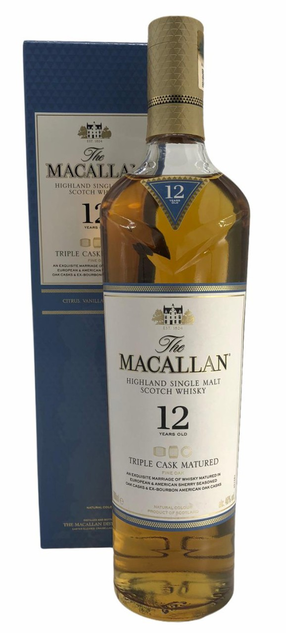 The Macallan 12 Years old Tripple Cask