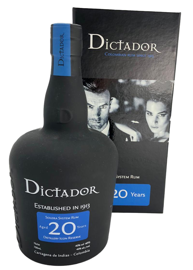 Dictador Colombian Rum 20 Years Old