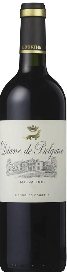 Diane de Belgrave Rotwein Bordeaux trocken 2014