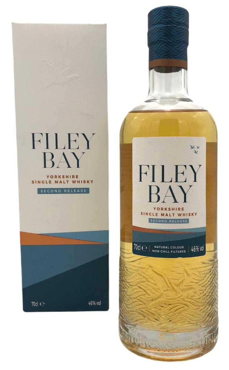 Filey Bay Second Release Yorkshire Single Malt Whisky 46% vol