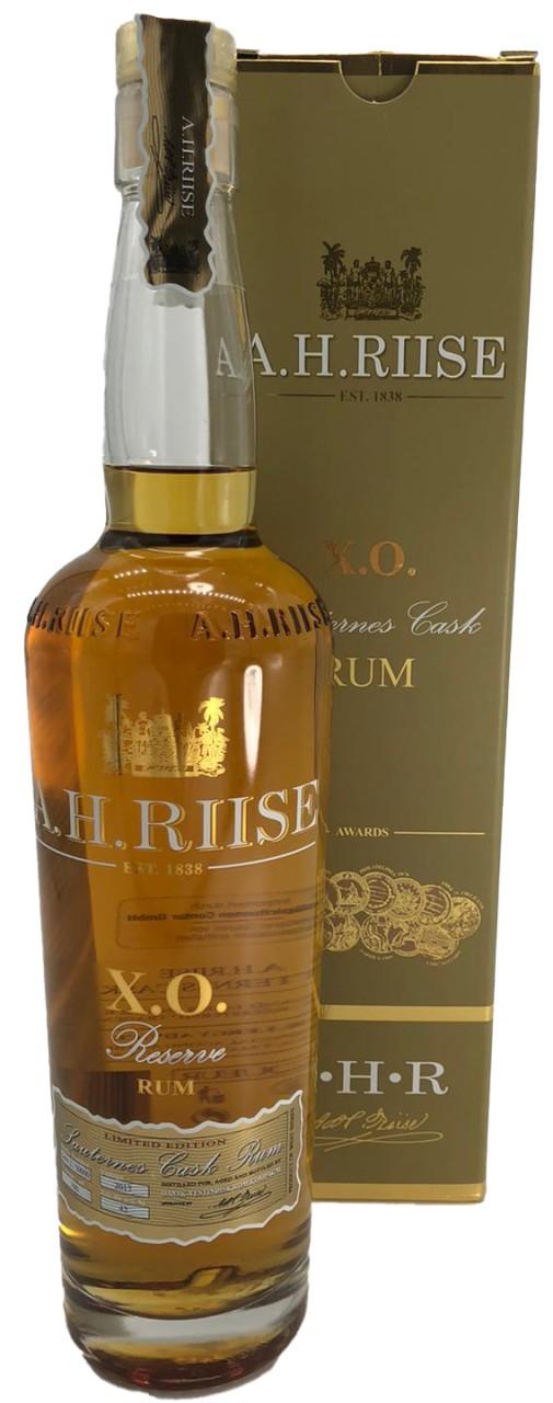 A.H. Riise X.O. Sauternes Cask Rum 0,7 L