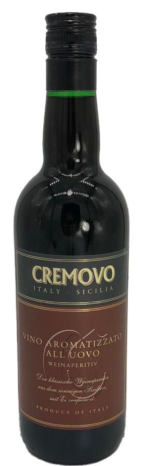 Cremovo Weinaperitif Vino Aromatizzato All' Uovo
