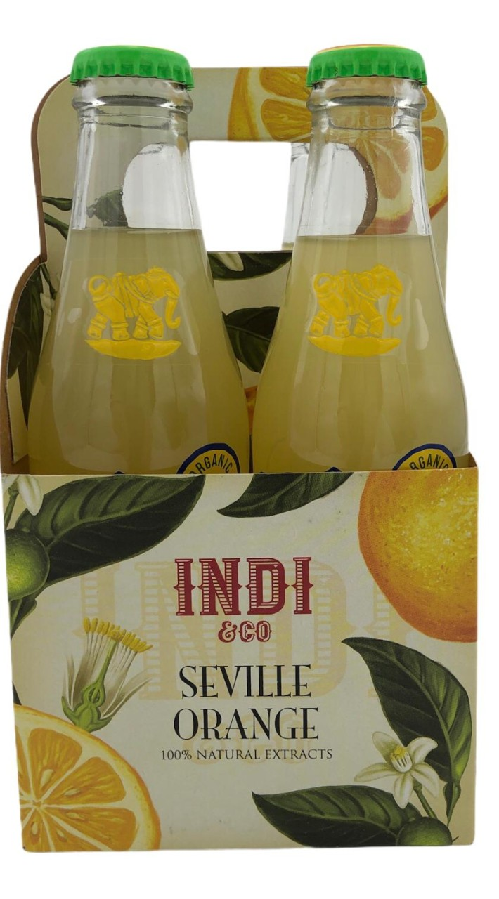 Indi & Co Seville Orange 4x 0,2l