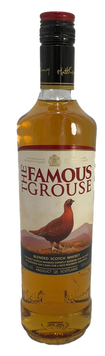 The Famous Grouse Blended Scotch 40%vol. 0,7l