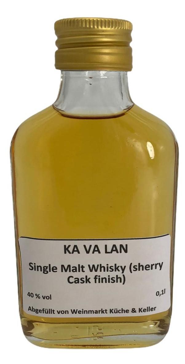Ka Va Lan Single Malt Whisky Sherry Cask Finish 0,1 L