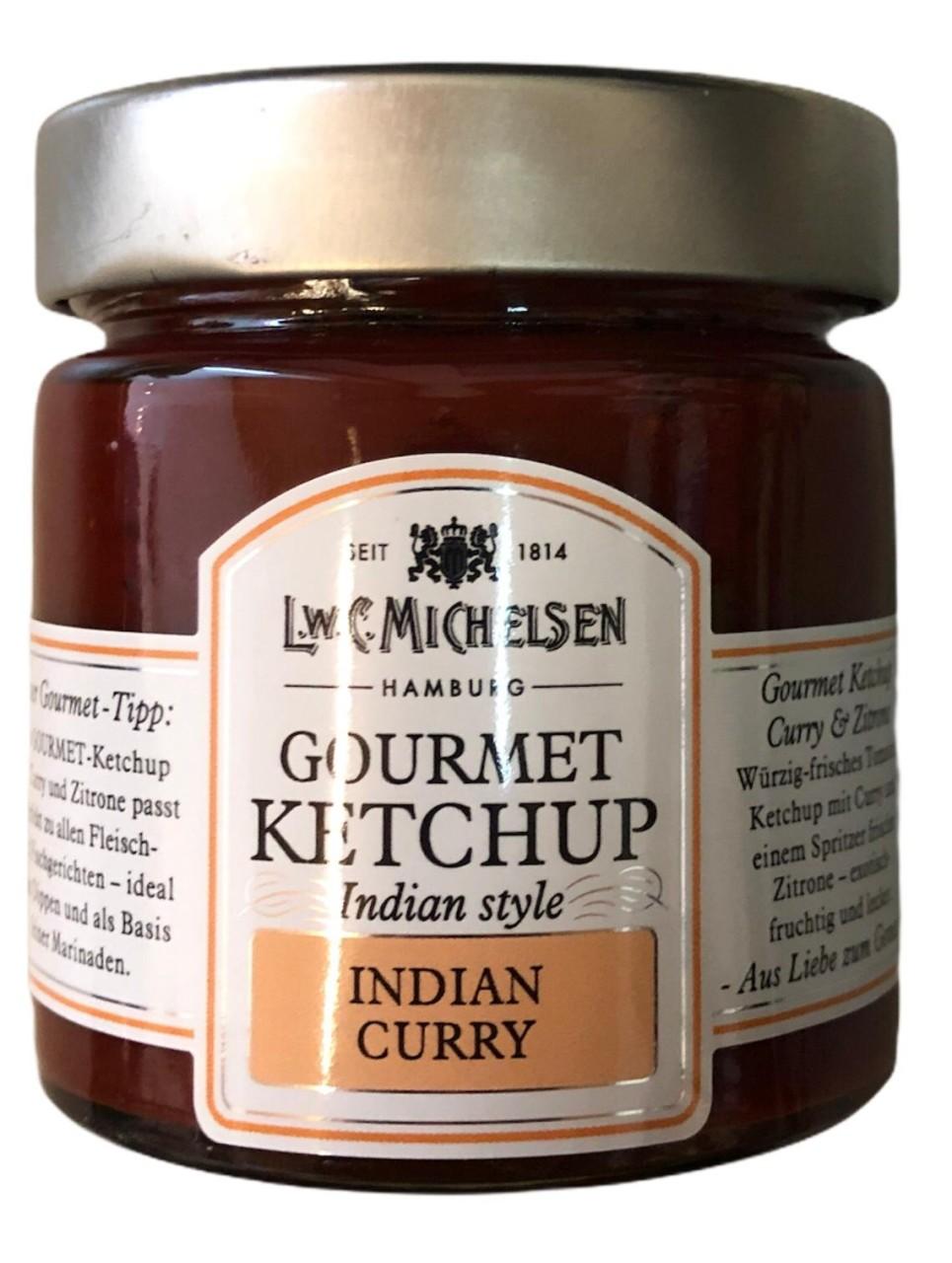 L.W.C. Michelsen Gourmet Ketschup Indian Curry 212g