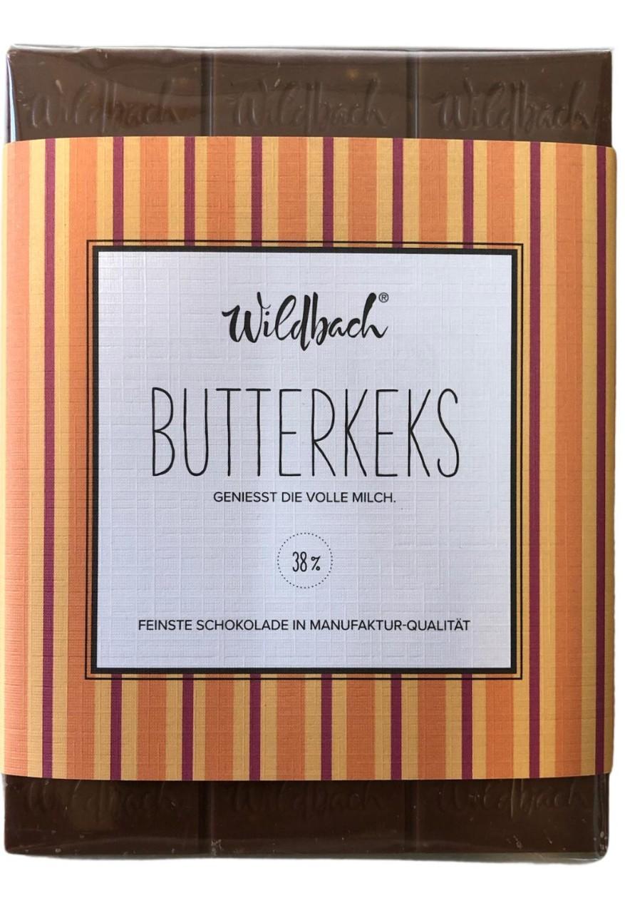 Wildbach Butterkeks geniesst die volle Milch 38% 70g