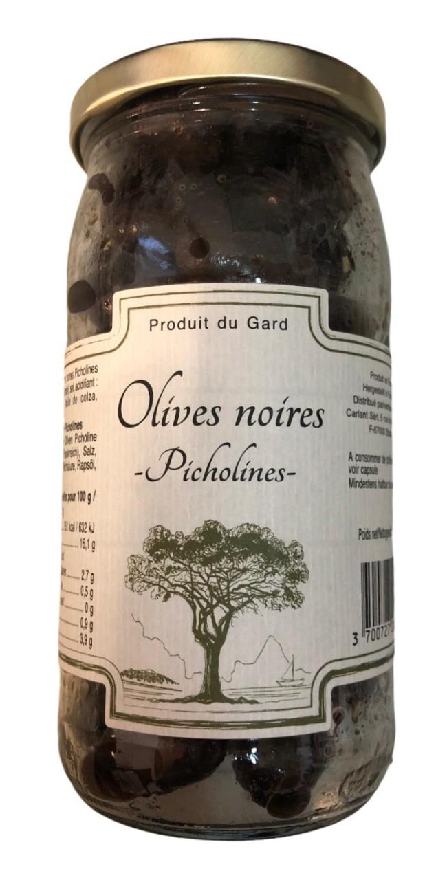 Olives Noir -Picholines- 200g