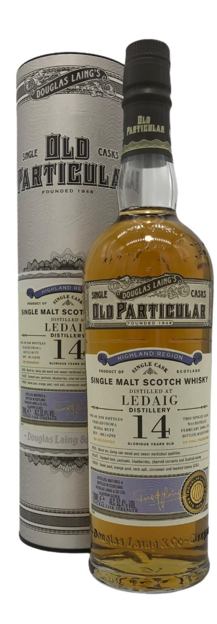 OLD PARTICULAR Ledaig 14 Years Old 0,7l