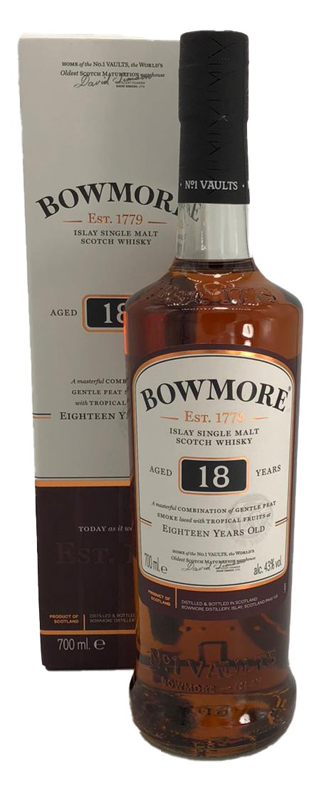 Bowmore 18 Years Old Single Malt