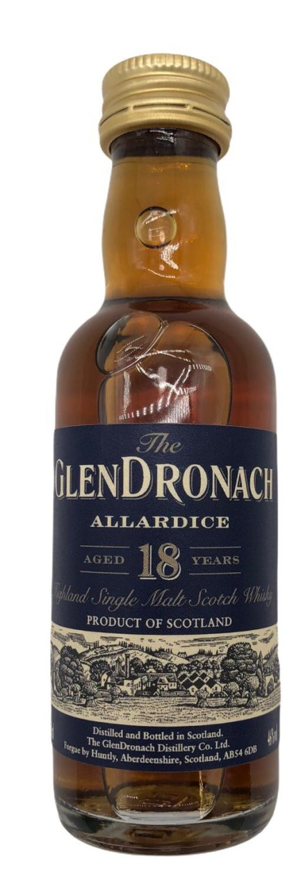Glendronach 18 Years Old 50ml