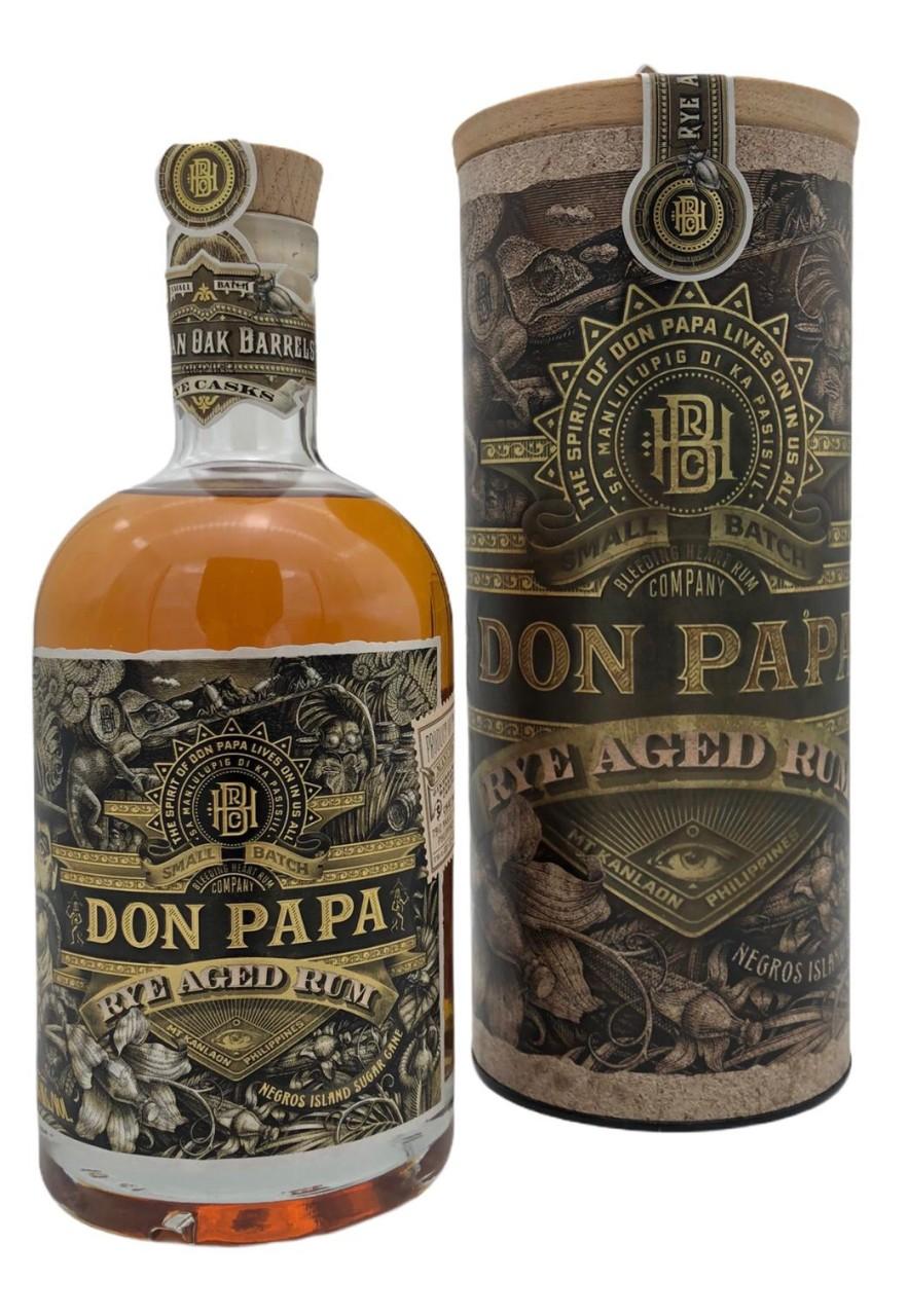 Don Papa Rye Cask Rare 45%vol 0,7l