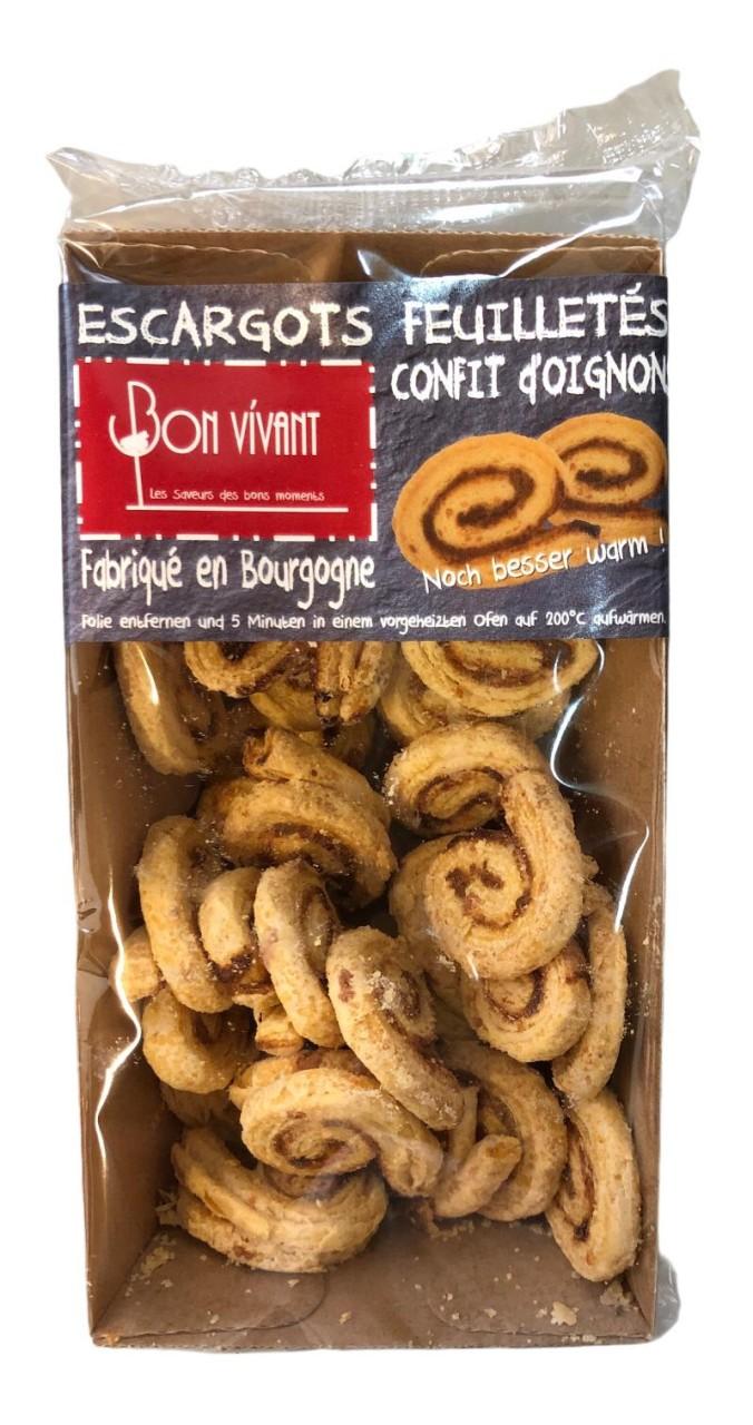 Bon Vivant Escargots Feuilletes confit d´Oignons 75g