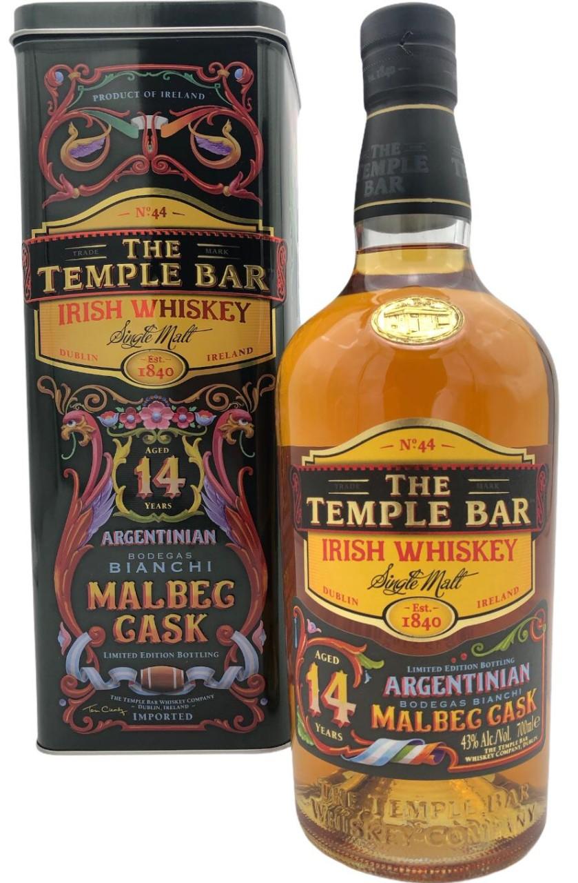 Temple Bar 14 Years Old Malbec Cask in GP Irish Single Malt