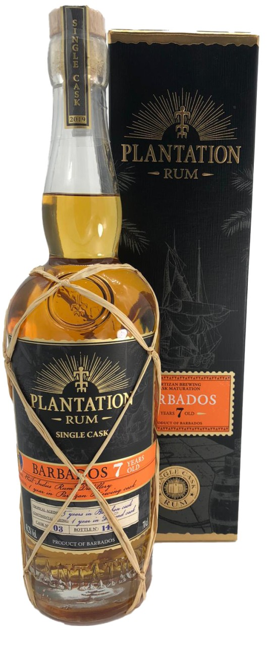 Plantation Barbados 7 Years Single Cask Collection 2019, Biere Partizan Brewing Cask Finish