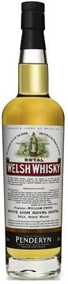 Royal Welsh Whisky 43%vol. Icons of Wales No. 6 - Peated Portwood 0,7l in GP