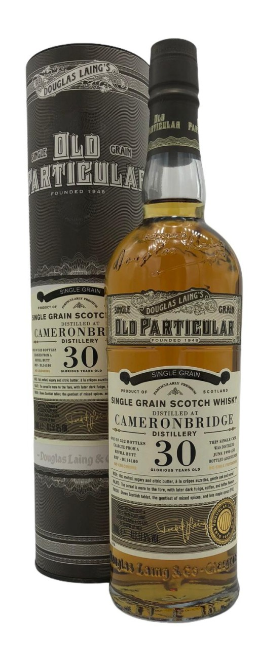 OLD PARTICULAR Cameronbridge 30 Years Old 0,7l