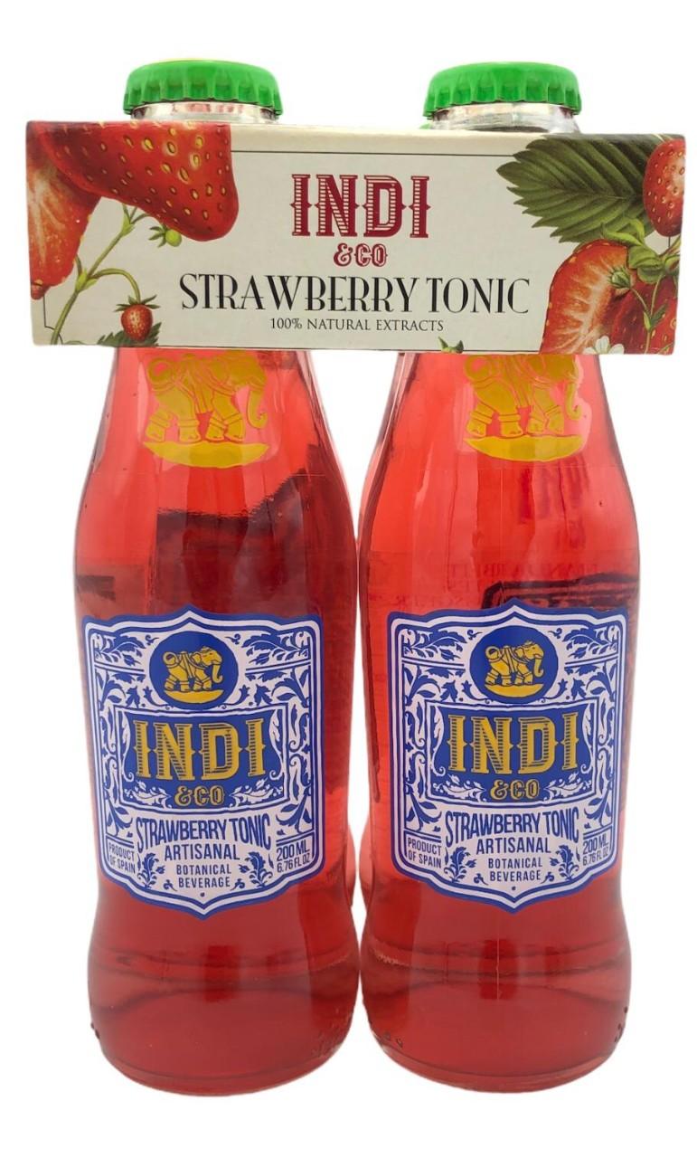 Indi & Co Strawbeery Tonic 4x 0,2l